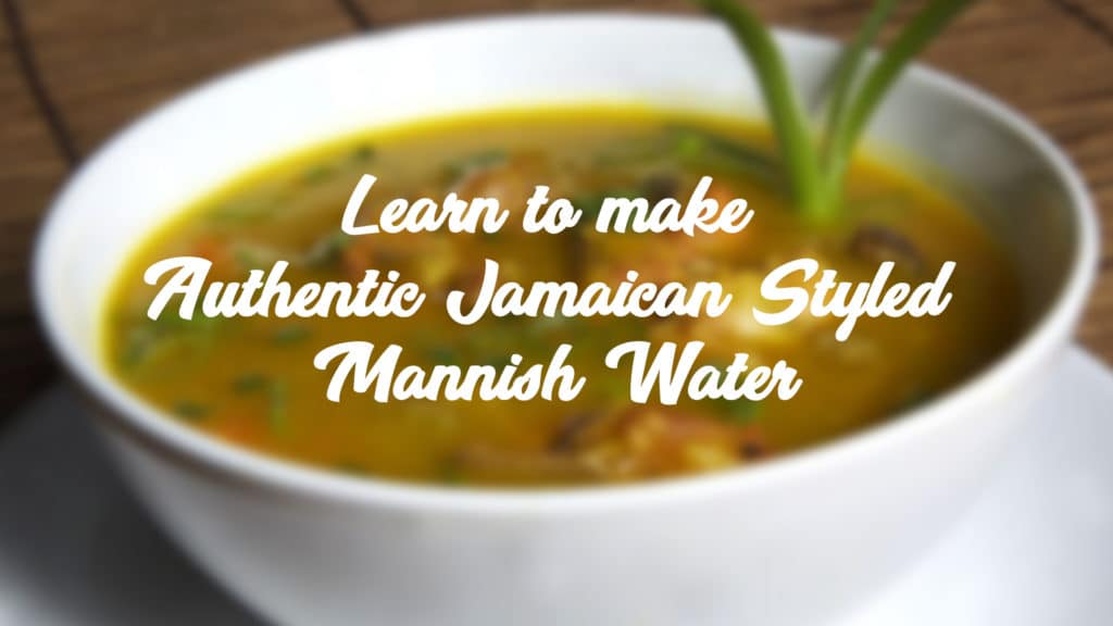 Mannish Water Banner